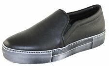 Spaziomoda Herenschuhe Shoe Slipper Slip-on Sneakers Gr.41 2126 schwarz