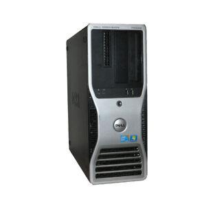 Dell T5500 Workstation Intel XEON E5620 CPU 16G ECC RAM 2 X 500GB HDD WIFI Win10