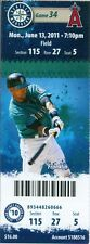 2011 Mariners vs Angels Ticket: Vernon Wells' two homers power Angels to win