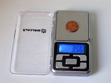 Portable pocket scales for weighing jewellery gold diamond Rings medicine powder