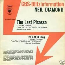 "Neil Diamond The Last Picasso German Promo 7 "" (S1814)"