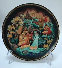 Porcelain Legend Of The Snow Maiden And Her Parents Plate #2 Russian 60-k24-1.2