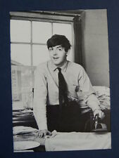 """3.5 x 5"""" clipframe with photo cutting of PAUL MCCARTNEY IRONING"""
