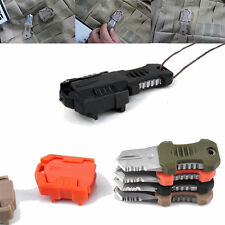 Mini Tactical Hunting EDC Pocket Survival Knife MOLLE Webbing Self Defense Tool