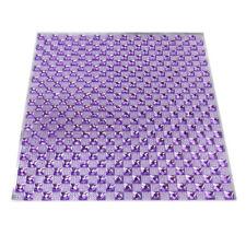 Crystal Diamond Sticker Sheet, 10-Inch, Lavender