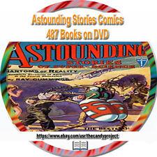 Astounding Stories Comic Magazine Suspense Pulp Fiction 487 PDFs Campbell 4 DVD