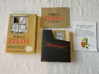 The Legend Of Zelda Complete CIB With Map Manual Box and Slipcase