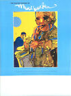 The Painted Sounds of Romare Bearden1994 Exhibition Poster, SAXOPHONE SOLO Jazz