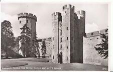 Warwickshire Postcard - Warwick Castle - Clock Tower & Guy's Tower - Ref ZZ4691