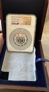 2016 Queens 90th BDAY UK £10 Ten Pound Silver 5oz NGC PF70 UCAM One of 1st 500
