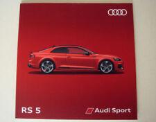 Audi 2018 Car Sales Brochures
