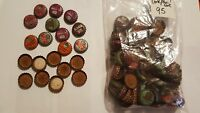 Vintage Soda Pop bottle caps CANADA DRY cork & uncorked lined - Lot of 95
