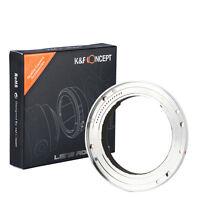 L/R-AI Lens Mount Adapter for Leica R LR Lens to Nikon F DSLR Camera K&F Concept