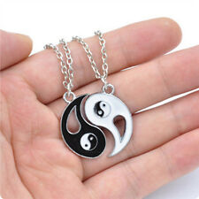New Lovely Best Friends Couple Necklace Alloy Gossip Puzzle Necklace