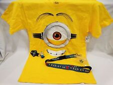 Universal Studios Despicable Me Stuart T-Shirt, Key Ring, & Lanyard