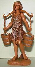 Fontanini Nativity figure, Asa, waterbearer, Christmas 5 in. series, Nib