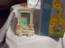 """PRECIOUS MOMENTS  """"BIRTHDAY TRAIN FRAME"""" IN BOX HARD TO FIND  119424"""