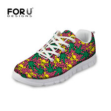Cool skull print Women Sport Shoes Breath Mesh Sneakers Summer Running Shoes