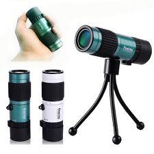 BOSHILE 10-75X25 Pocket-Size Zoom Lens Night Vision Monocular Telescope Tripod
