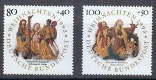 Germany 1993 MNH Mi 1707-1708 Sc B756-B757 Christmas.Nativity. **