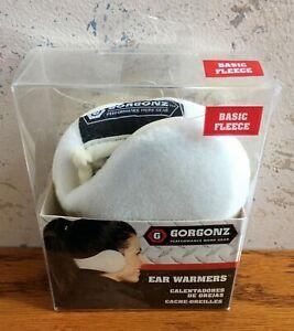 Gorgonz by 180's Performance Work Gear Ear Warmers Women's Basic Fleece Snow Wht