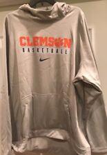 Clemson Tigers Basketball Nike Therma-Fit Hoodie Sweatshirt 3XL XXXL NWOT