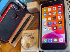 New listing Apple iPhone 7 Plus (256gb) World Gsm Unlocked (A1784) black: MiNt {iOs13}86%