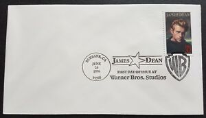 USA 1996 Film Actor Legend of Hollywood James Dean 1v Stamp FDC (official issue)