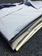 Astor & Black Scott Disick Dress Shirts LOT of 3 Custom Tailored French Cuffs