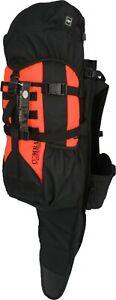 CSG Black & Orange Premium Gunpack Rifle Hunting/Hiking/Camping Backpack