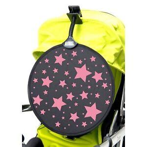 My Buggy Buddy Buggy Pushchair Stroller Sunshade Pink Stars