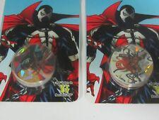 2X Spawn Pogs Moc 7 Spogs & 1 Kini Slammer in each 1995