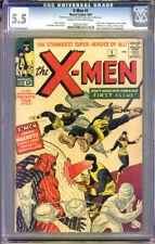 X-Men #1 CGC 5.5  FN- Universal CGC #0265347001