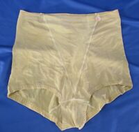 PLAYTEX Thin Crepe Knit BEIGE NUDE BODY MAGIC Panties Shapers MODEL 0857, sz L