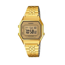 Casio Vintage LA-680WGA-9DF Gold Plated Watch for Women