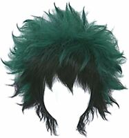 Cosplay Wig for My Hero Academia Midoriya Izuku Deku Battle V02