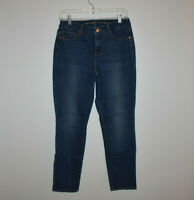 The So Slimming Girlfriend Ankle Jeans Chico's Size 00 - 2