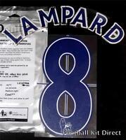 Chelsea Lampard Premier League Name/Number Set Football Shirt Lextra 07-13 Blue