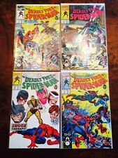 1991 Deadly Foes Of Spider-Man 1 2 3 4 Full & Complete Run Most NM