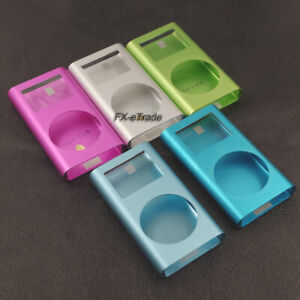 Blue Green Silver Pink Housing Case Cover Lens for iPod Mini 1st 2nd 4GB 6GB