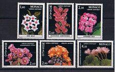 Monaco ** MiNr 1506 - 1511 Exotische Pflanzen Kakteen