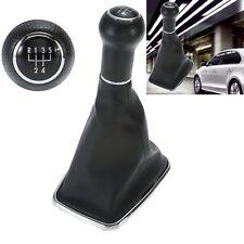 5 Speed Shifter Gear Shift Knob Gaitor Boot for 1999-2004 VW MK4 Golf Jetta Bora