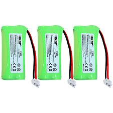 3x HQRP Batteries for AT&T BT8001 BT184342 BT284342 3101 3111 SL82418 SL82518