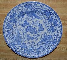 Vintage Nippon Royal Sometuke China Plate Phoenix & Floral Pattern