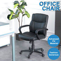PU Leather Office Chair Executive High Back Ergonomic Computer Desk Task Chair