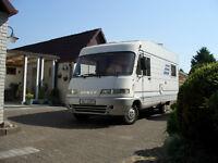 Vollintegriertes Hymer B 534 Reisemobil, Rundsitzgruppe, Tüv 2019, 116 PS