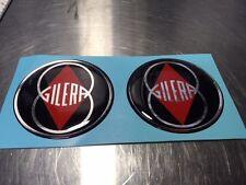 Gilera Vintage MC 52mmRepro Red/Blk/Sil-Chrome Sears Allstate Vespa Puch badges