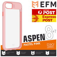 EFM Aspen D3O Case Armour iPhone 7 8 Pastel Pink Slim Tough Cover Drop Proof