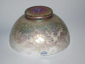 Royal Brierley Studio Iridescent Art Glass Lamp Shade