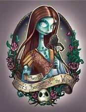 Sally # 10 - 8 x 10 - T Shirt Iron On Transfer - Nightmare Before Christmas